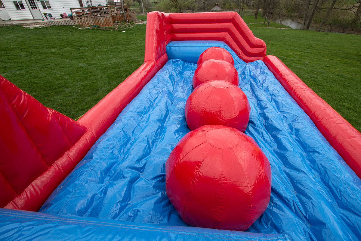 Big Baller  Air Bounce Inflatables  Party Rentals in