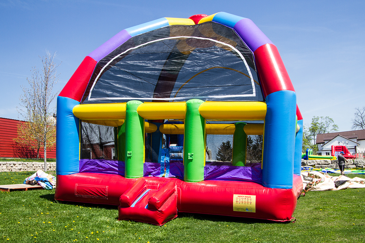 Mega Bouncer  Air Bounce Inflatables  Party Rentals in