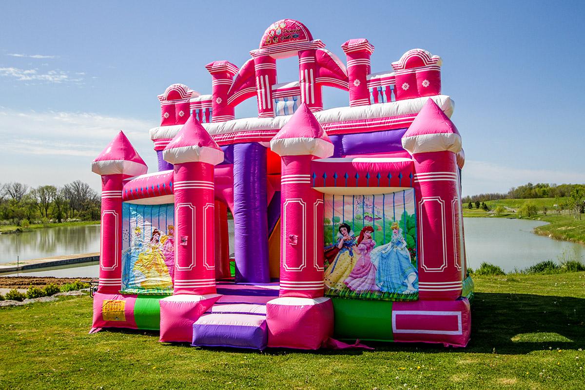 Princess 3  Princess Flower Castle Combo  Air Bounce
