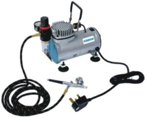 portable airbrush compressor kit