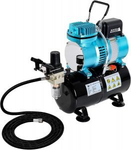 Airbrush Compressor with tank or without tank
