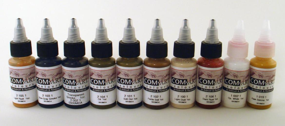 Real Deal Weathering Paints