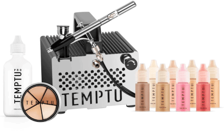Temptu S-One Premier Airbrush Makeup Kit Review