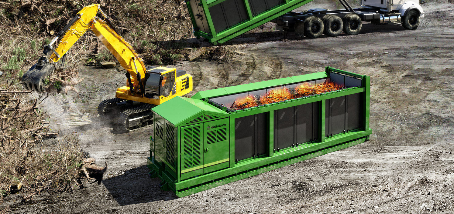 air burners revolutionary biomass waste