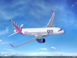 , SKY express orders four A320neo and becomes a new Airbus customer, For Immediate Release | Official News Wire for the Travel Industry