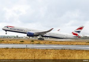 british airways takes delivery