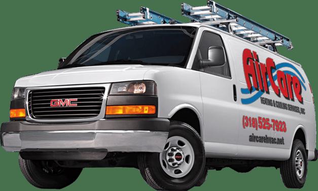 AC Repair Service Van