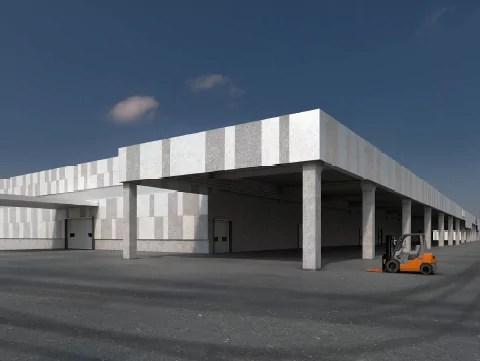 Beta Airport - Rendering nuovo impianto Malpensa 2