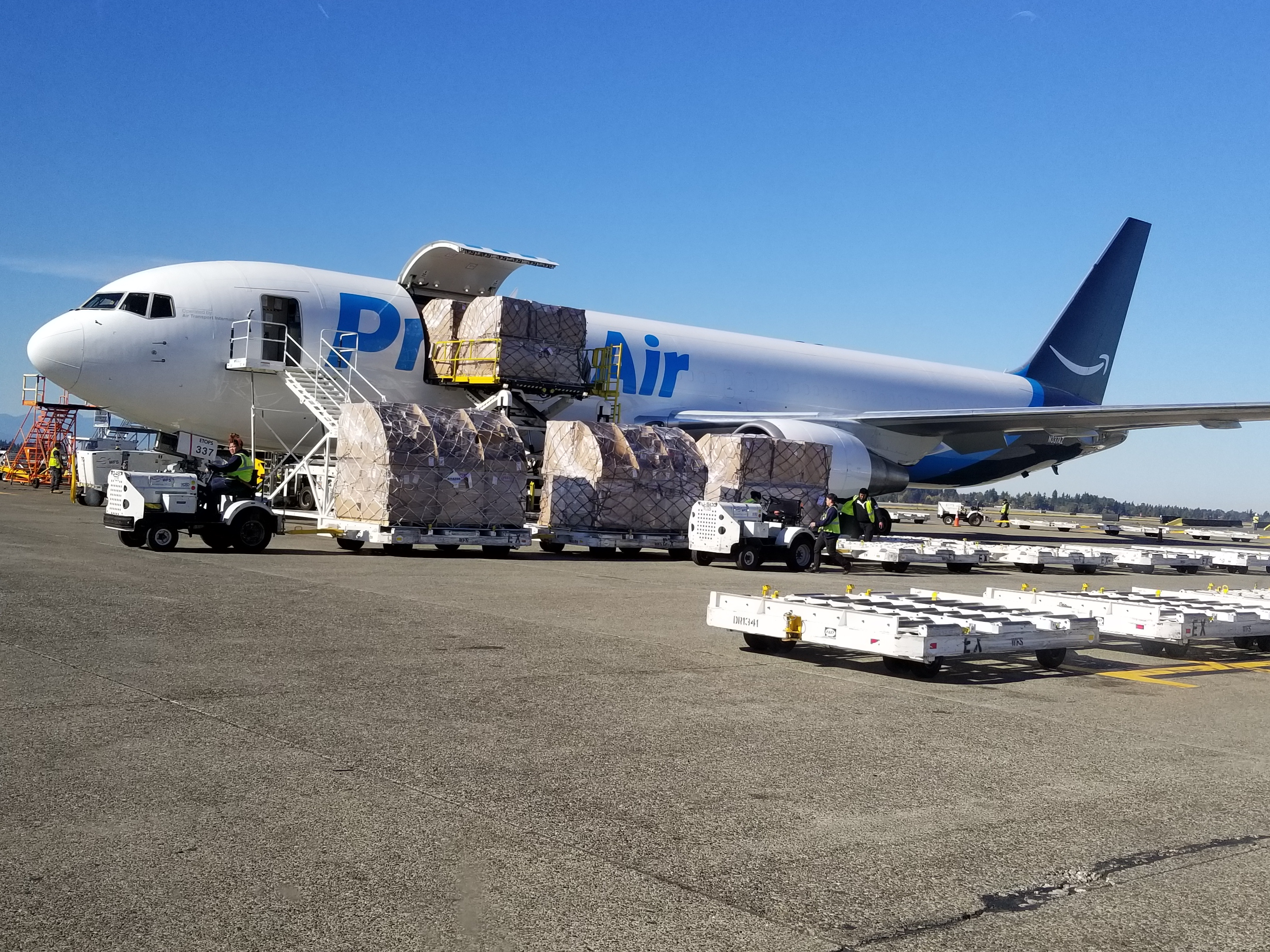 Amazon Air fleet to expand to 50 freighters  Air Cargo World