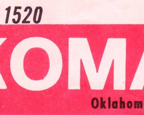Dan McGregor, 1520 KOMA Oklahoma City | January 5, 1964