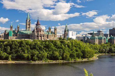 Parliament Hill in Ottawa, Ont. (Natalia Pushchina/Shutterstock)