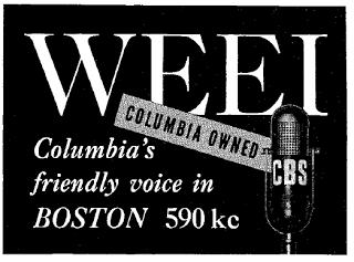 590 Boston WEEI - 1940s