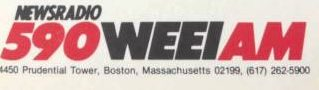 590 Boston WEEI NewsRadio