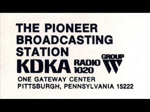 1020 KDKA Pittsburgh Covers the Blizzard of 1977 | January 28, 1977