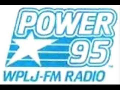 A Sample of CHR Formatted 95.5 WPLJ New York, Thanksgiving Day, 1988