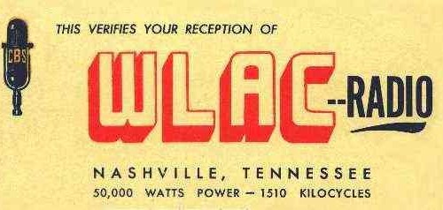 Composite: 1510 WLAC Nashville | March 16, 1960