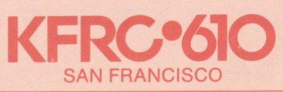 610 San Francisco, KFRC