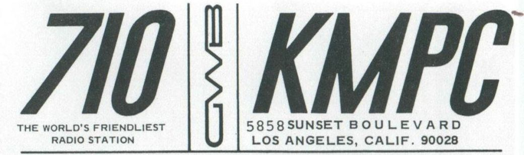 Gary Owens on KMPC Los Angeles | August 1, 1969 (corrected
