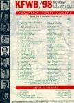 980 Los Angeles KFWB Color Radio All News