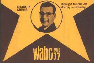 Charlie Greer WABC Promotional