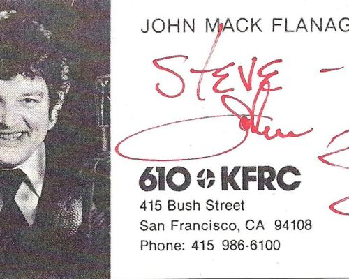 Dale Dorman; Steve Lundy, 610 KFRC San Francisco | December 24, 1967