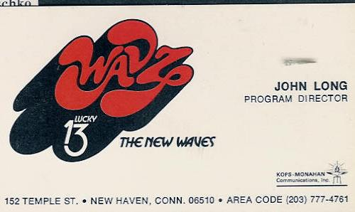 Composite: 1300 WAVZ New Haven | July 3, 1973
