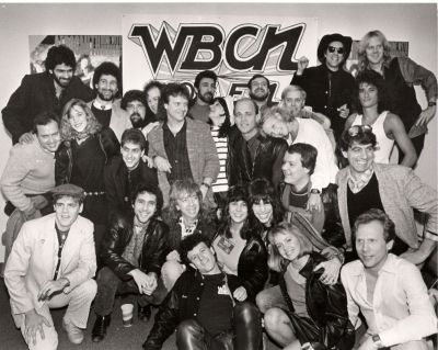 WBCN 104.1 FM Boston Staff Pic 1989