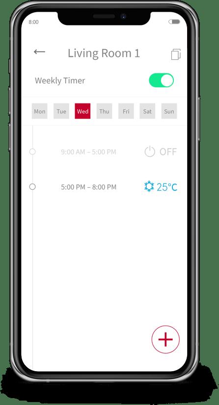 Air Conditioning Remote Control via Smartphones l airCloud
