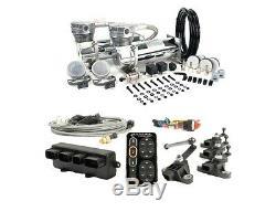 Accuair E-level Kit + Viair 480c Dual Chrome Compressors