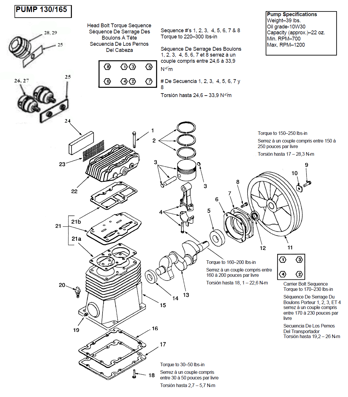 Coleman Camper Replacement Parts