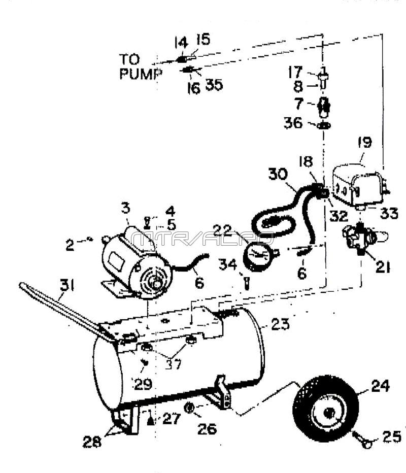 dayton speedaire compressor manual auto electrical