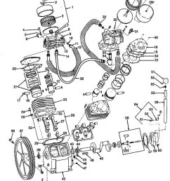 antiques and collectibles quincy compressor phaserefurbisheditemhere source ingersoll rand 185 air compressor wiring diagram devilbiss air compressor  [ 1000 x 1191 Pixel ]
