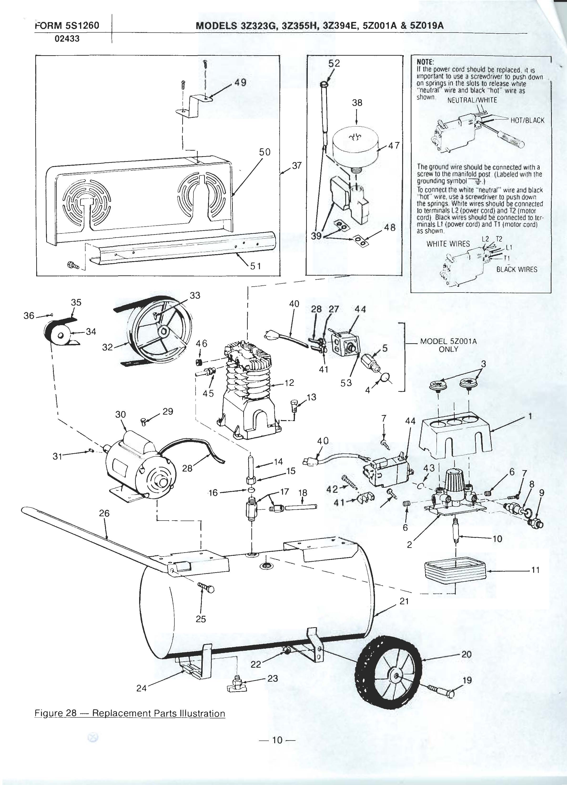 speedaire repair manual