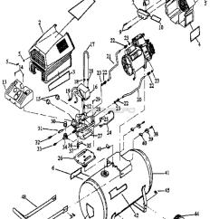 Compressor Pump Diagram Bathroom Light Extractor Fan Wiring Craftsman Twin V Oil Free Air Parts 919 152932