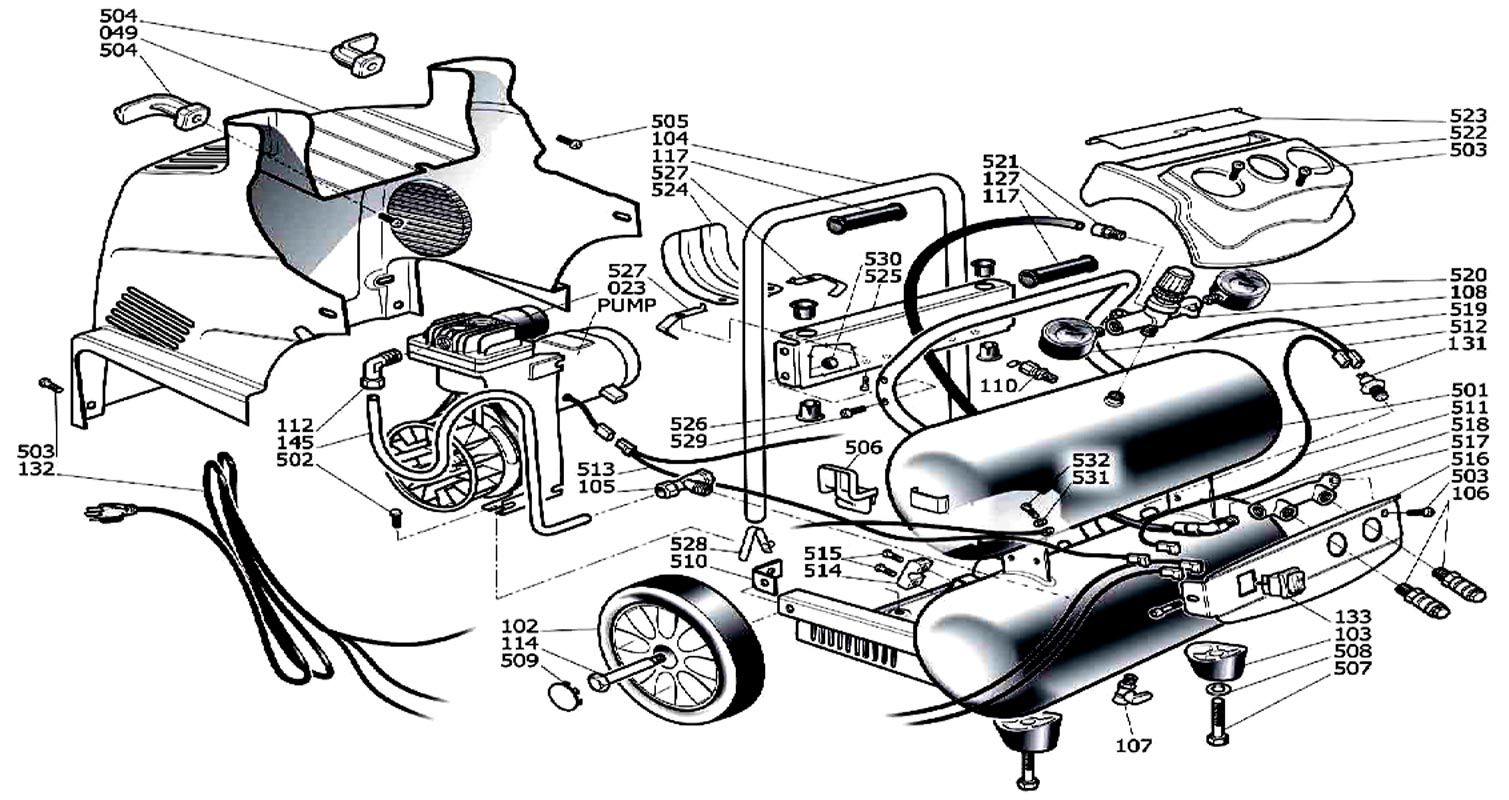 hight resolution of husky h1504st air compressor parts husky parts husky 60 gallon air compressor wiring diagram air compressor starter wiring diagram