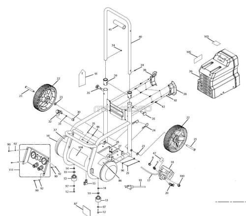 small resolution of of25135cw tank air compressor parts schematic