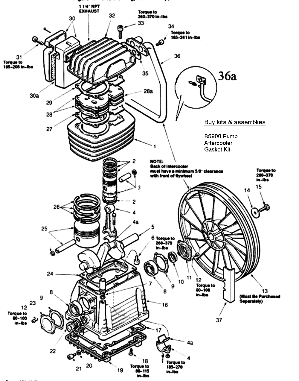 hight resolution of pump assy parts