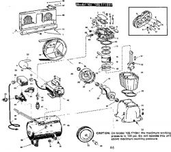 Sears Craftsman 106.171941 Air Compressor Parts