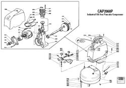 Bostitch CPACK1850 Air Compressor Parts, Bostitch Parts