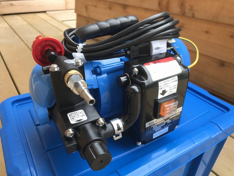 エアコン洗浄機:丸山製作所の洗太郎とESW-30K-1