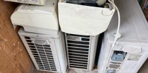 西区で取り外し済みエアコン3台無料回収