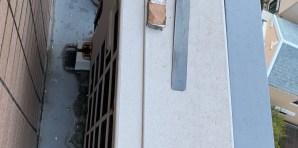 南区マンション10階エアコン回収処分