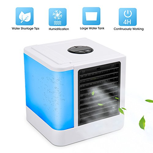 Rosky Personal Air Conditioner Fan 3 In 1 Air Personal