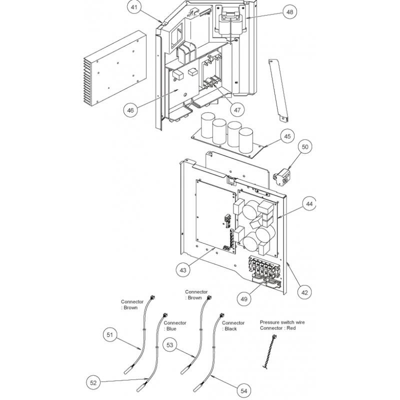 Fujitsu K9707128178 POWER FILTER PCB AOU24/30RLXQ K05CW