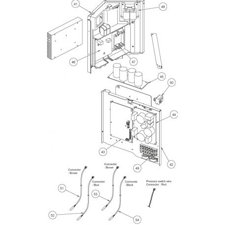Fujitsu K9707121391 CONTROL PCB AOU24RLXQ HY K05CU-0702HUE