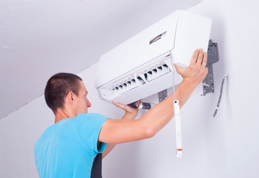 what to expect when your new air conditioning unit is being installed