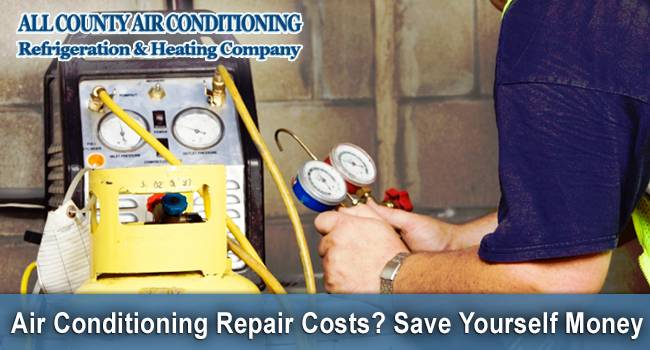 Air Conditioning Repair Costs? Save Yourself Money