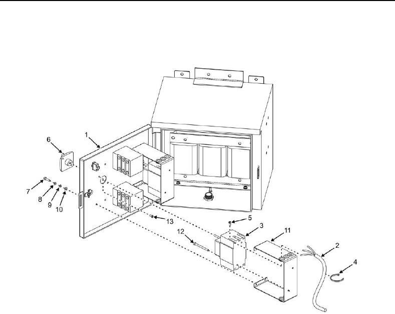 Figure 3. Power Control Box Circuit Breaker.