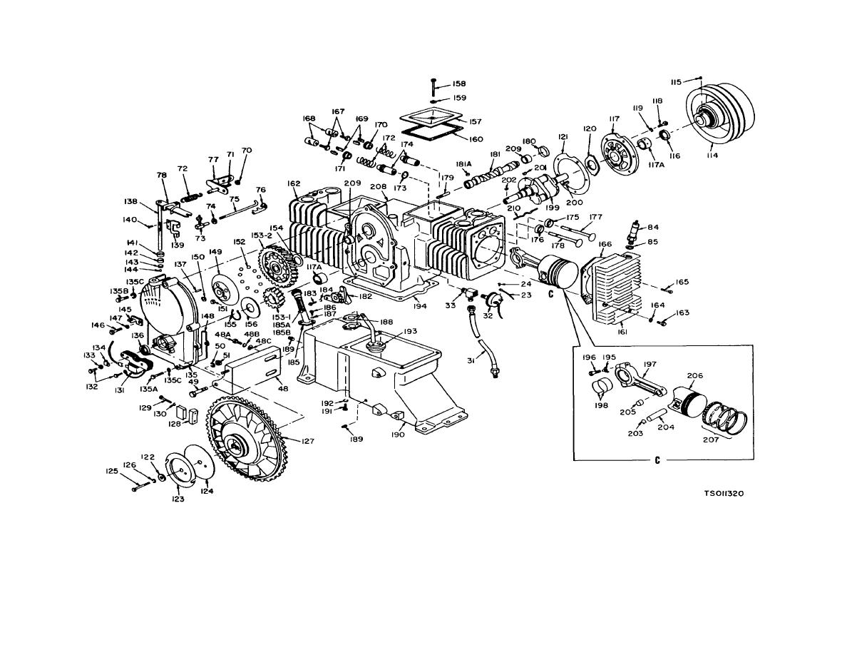 hight resolution of engine exploded view sheet 2 of 3