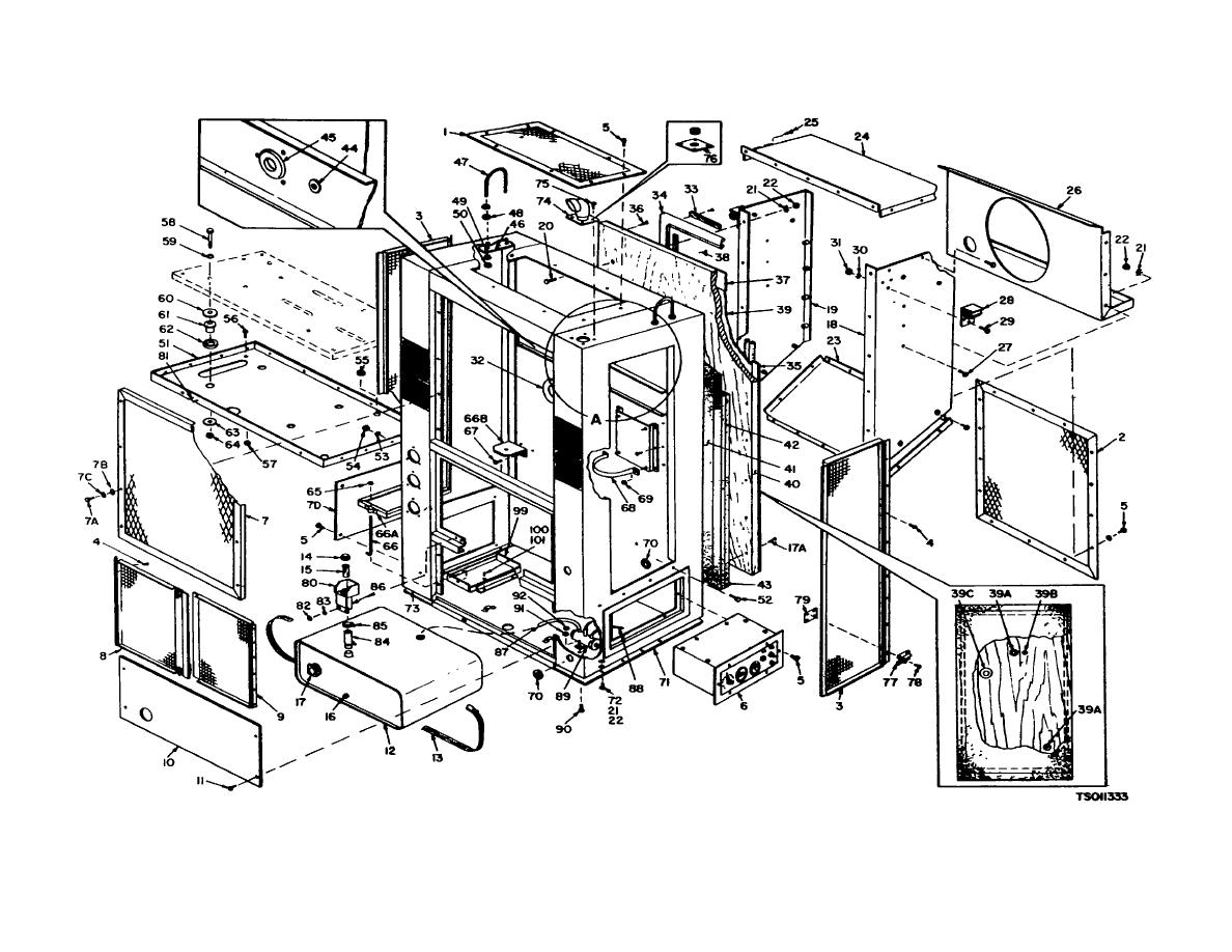 Figure 3-24. Structural Components (Sheet 1 of 2)